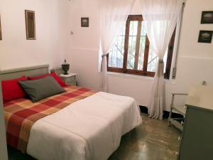 Cama o camas de una habitación en Casa Rural Molera