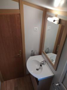 A bathroom at Camino de Santiago