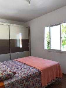 Cama o camas de una habitación en APARTAMENTO PRÓXIMO MAR