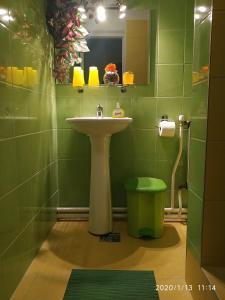 A bathroom at Mathias Lovasudvar