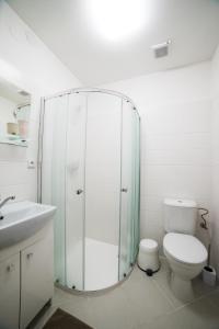 Koupelna v ubytování Penzion Kroměříž