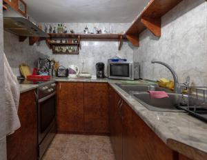 A kitchen or kitchenette at Elitza Villa