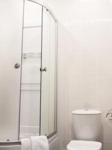 A bathroom at Yugorskaya