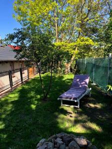 Ogród w obiekcie Pokoje Goscinne Na Zboczu