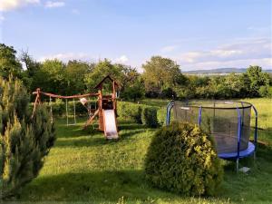 Herní místnost nebo prostor pro děti v ubytování U Srubu Sychrov