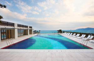 The swimming pool at or near Paradise Hotel Busan