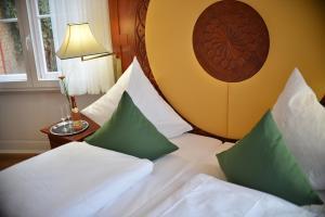 Ein Bett oder Betten in einem Zimmer der Unterkunft Hotel Villa Ponte Wisera