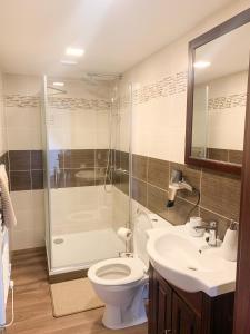 A bathroom at JP-KU ubytování Kadaň
