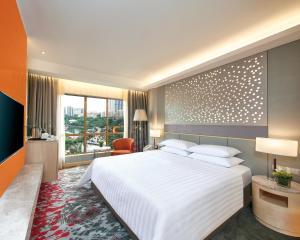 サンウェイ ピラミッド ホテルにあるベッド