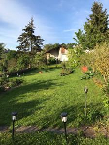 A garden outside Pension Schmitz