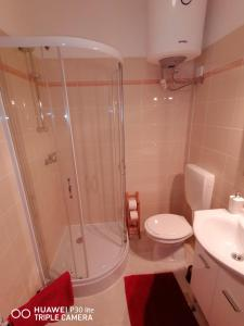 A bathroom at Mirta & Eva Apartments