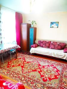 Кровать или кровати в номере У Дома культуры Молодёжи однокомнатная квартира