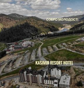 Apgyvendinimo įstaigos Kasimir Resort Hotel vaizdas iš viršaus