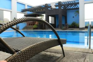The swimming pool at or near Prince Plaza II Condotel