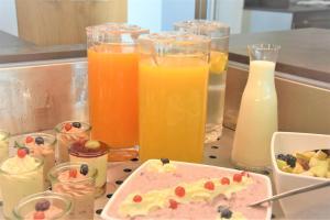Frühstücksoptionen für Gäste der Unterkunft Gasthaus zu Traube