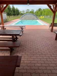 The swimming pool at or near Sol Apartments