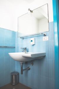 Salle de bains dans l'établissement City-In Hostel B&B