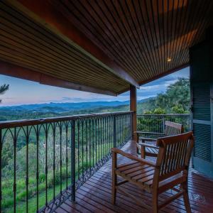 Uma varanda ou terraço em Quinta dos Pinhais Pouso e Charme