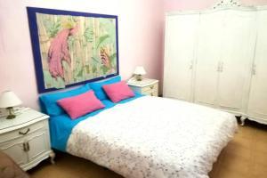 Cama o camas de una habitación en bonito apartamento centro onil