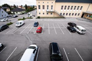 Ein allgemeiner Blick auf Enns oder ein Stadtblick von des Hotels aus