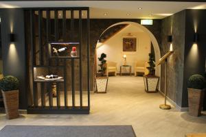 Lobby/Rezeption in der Unterkunft Hotel Post