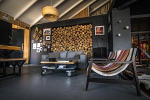 Zona de estar de Kau Lodge
