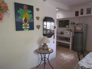 A television and/or entertainment center at Casa del Solar Centro Cozumel