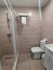 Ванная комната в Mandarin Hotel