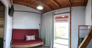A seating area at Camping Resort Els Pins