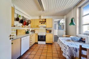 Køkken eller tekøkken på Villa Strada Bed & Breakfast