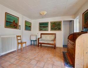 Et opholdsområde på Villa Strada Bed & Breakfast