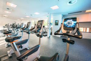 Фитнес-центр и/или тренажеры в Winkler´s Gipfelblick Chalet