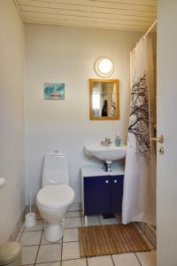Et badeværelse på Villa Strada Bed & Breakfast