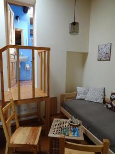 Zona d'estar a Les Magranes Bed & Breakfast