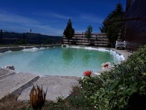 The swimming pool at or near Fisgas Cabana