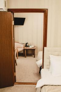A television and/or entertainment center at Gavan Hotel