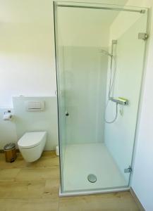 Ein Badezimmer in der Unterkunft Ferienwohnungen Wyk/Föhr