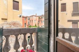 A balcony or terrace at Riva Palace Apartments