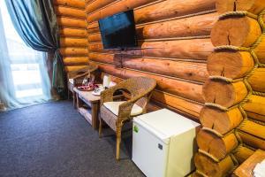 Телевизор и/или развлекательный центр в Гостиничный комплекс Коровницкая Слобода