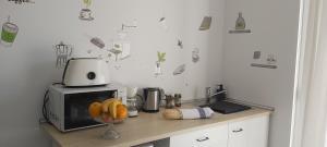 Una cocina o zona de cocina en Agroturisme Son Barceló Mas