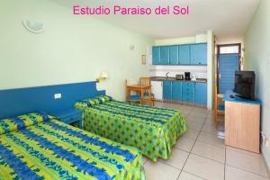 Een keuken of kitchenette bij Paraiso del Sol