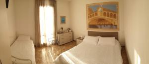 Cama ou camas em um quarto em Venice My Friends Canal View