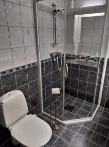 Ein Badezimmer in der Unterkunft Sinnes Fjellstue Apartment 1F