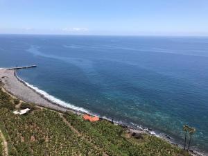 A bird's-eye view of Faja dos Padres