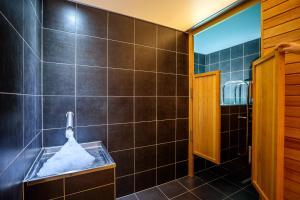 Ванная комната в Park Holiday Congress & Wellness Hotel
