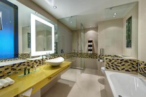 Ванная комната в Hilton Frankfurt Airport