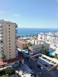 A bird's-eye view of Benalmadena ,apartamento-Estudio primera Línea de Playa