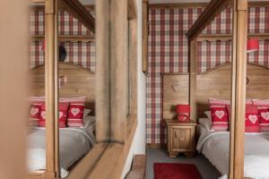 A bunk bed or bunk beds in a room at Villa Adamo&SPA