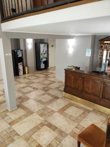 Lobby alebo recepcia v ubytovaní Hotel La Vignetta