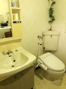Kamar mandi di Fuji Subashiri Condominium Tannpopo